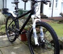 Black Magic bike photo
