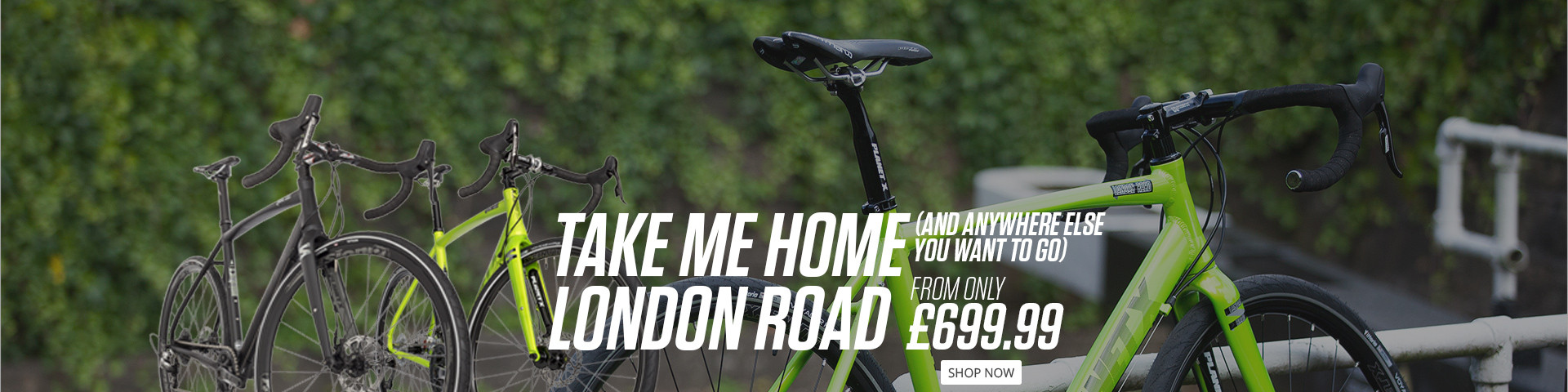 London Road - The Go Anywhere Rod Bike
