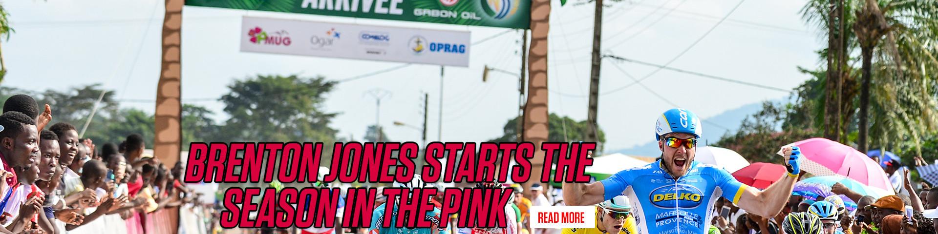 Brenton Jones starts his season in the Pink