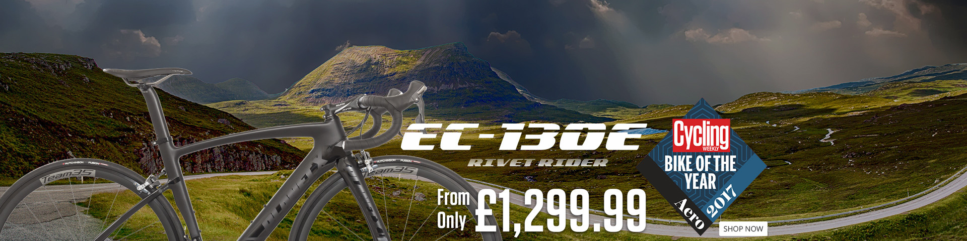 Ec-130E Rivet Rider - Cycling Weekly Aero Road Bike of the Year