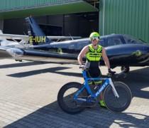 BLUE SKY bike photo