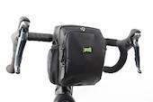 PODSACS Bike-n-Hike Handlebar-Shoulder Bag With Waterproof Cover