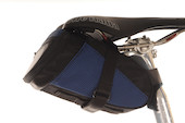 Planet X Large Saddle Bag with Zip Pocket