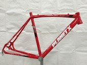 Planet X XLA Alloy Cyclocross Frame / Medium / Fire Red / Paint Chip On Headtube