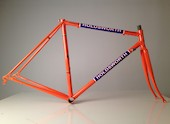 Holdsworth Professional Campagnolo Frameset (Italian Made) / 51cm / Team Orange And Blue / Cosmetic Damage