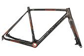 Viner Super Prestige DCX Carbon Cyclocross Frameset (BB30 Bottom Bracket) / Small (50cm) / Orange