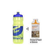 Carnac Water Bottle With Free Energy Gel