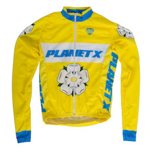 Planet X Childrens Yorkshire Rose Long Sleeve Jersey