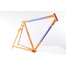 Holdsworth Professional Italia Frameset (Italian Made) / 51cm / Team Orange And Blue  (Scatched Fork)