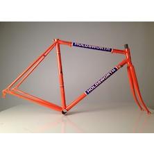 Holdsworth Professional Italia Frameset (Italian Made) / 51cm / Team Orange And Blue / Cosmetic Damage