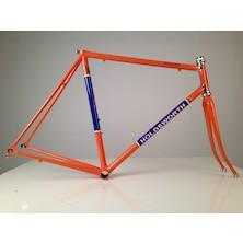 Holdsworth Professional Italia Stainless Frameset / 57cm / Team Orange And Blue / Cosmetic Damage