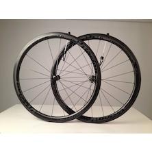 Vision Metron 40 Carbon Clincher Road Wheelset / Grey / Shimano/SRAM 10/11sp