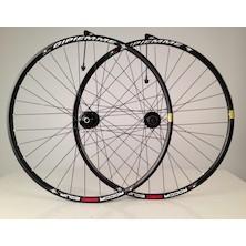Gipiemme Roccia Equipe 700c/29 Inch Disc Wheelset / Black / Shimano/SRAM 10/11sp / Cosmetic Damage