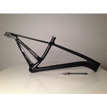 On-One Rango 27.5 Plus Or 29er Carbon Mountain Bike Frame / 17 Inch / Dark Speed / Cosmetic Damage