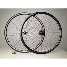 Gipiemme Pista Fixed 700c Clincher Wheelset / Black / Cosmetic Damage