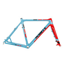 Planet X Pro Carbon XLS Cyclo Cross Frameset / 59cm / Sky / Red / 1By Only