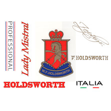 Holdsworth Frame Decal Set
