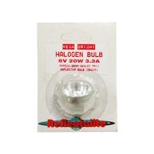 Reflectalite Reflector Bulb 6v 20w 3.3A Halogen (Bi/Pin)