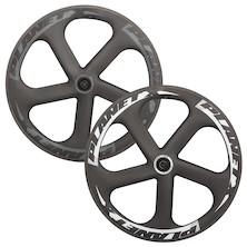 Planet X Five Spoke Carbon Aero Ceramic Bearing Front Wheel
