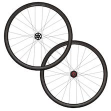 Planet X Pro Carbon 38/38 700c Tubular Disc And Rim Brake Wheelset