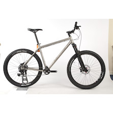 On One Ti 45650B Sram GX1 Mountain Bike 20 Inch  Brushed