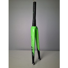 Viner Mitus Carbon Fork / Carbon And Green / Used - Cosmetic Damage