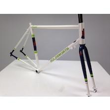 Holdsworth Brevet Audax Frameset / Medium / Pearl White / Paint Chips