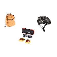 Helmet, Glasses & Bag Summer Bundle
