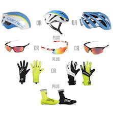 Team Delko-Marseille Carnac Helmet And Accessories Bundle