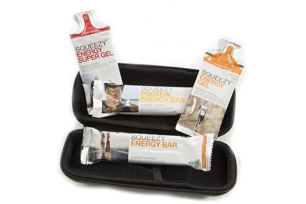 Carnac EVA Bottle Case Squeezy Nutrition Bundle