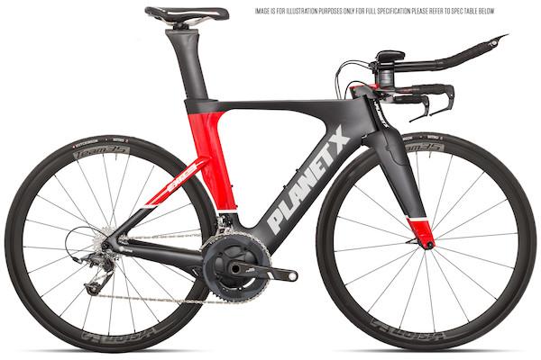 Planet X Exo3 Time Trial Bike SRAM Force 11 Vision 35
