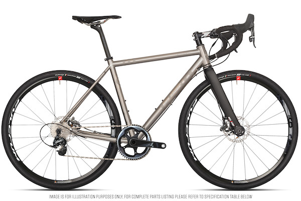 Planet X Tempest Titanium Gravel Road Bike Sram Force 1 HDR Fully Loaded Edition