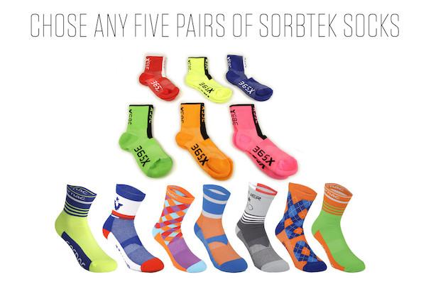Sorbtek Socks Pick And Mix 4 For A Tenner Bundle