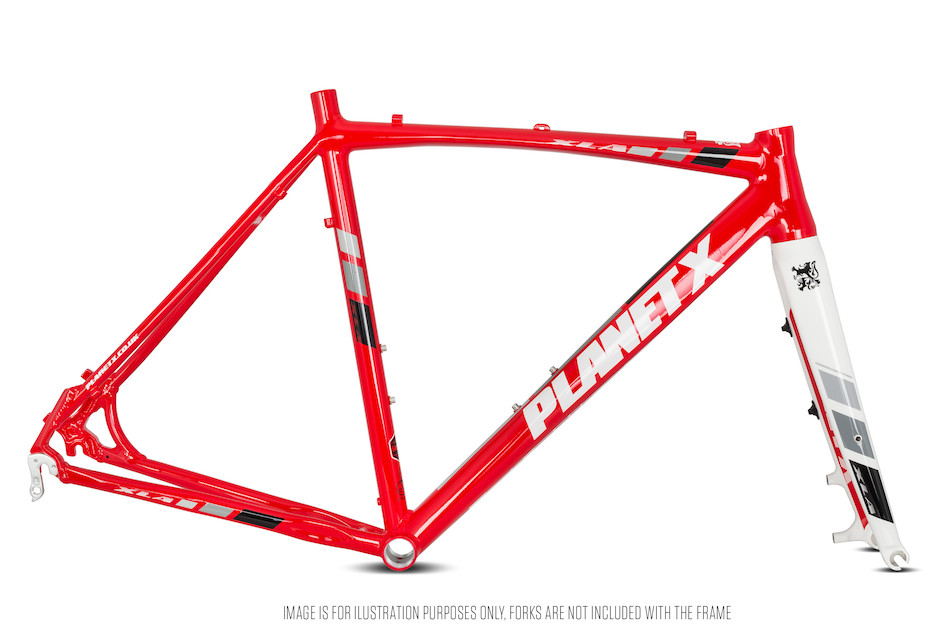 Planet X XLA Alloy Cyclocross Frame   On - One