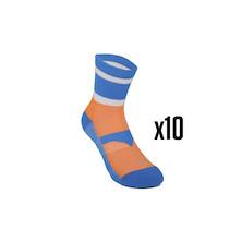 10 Pairs Holdsworth Team Sorbtek Cycling Socks Trade Pack - 10 Pairs Of Socks