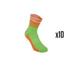 10 Pairs Team Ireland Sorbtek Cycling Socks Trade Pack - 10 Pairs Of Socks