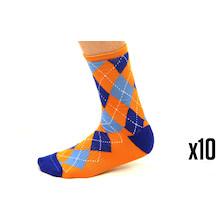 10 Pairs Holdsworth Merino Socks Made In UK  Trade Pack - 10 Pairs Of Socks