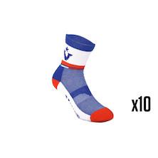 10 Pairs Viner Retro 70 Sorbtek Cycling Socks  Trade Pack - 10 Pairs Of Socks