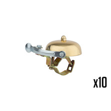 10 Holdsworth Gran Sport 25.4mm Brass Bell Trade Pack - 10 Bells