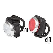 10 Jobsworth Avior Front or Rear Lights Trade Pack - 10 Lights