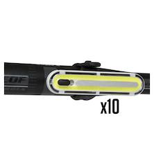 10 Jobsworth Dogstar 240 Lumen rear Light Trade Pack - 10 Lights