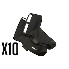 10 Planet X Neoprene Overshoes Trade Pack - 10 Over shoes
