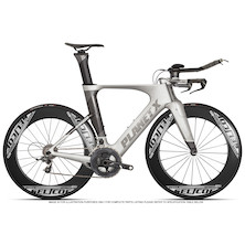 Planet X Exo3 SRAM Force 11 Selcof Delta 86 Buongiorno Cuckney 10 Limited Edition Time Trial Bike