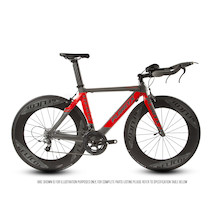 Planet X Stealth SRAM Force 11 Selcof Delta 86 Buongiorno Cuckney 10 Limited Edition Time Trial Bike