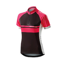 Altura Womens Team Short Sleeve Jersey / Pink / Size 10