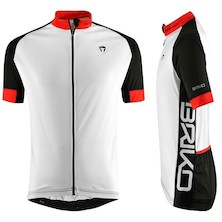 Briko Zampillo Short Sleeve XXL Jersey / White - Black - Red