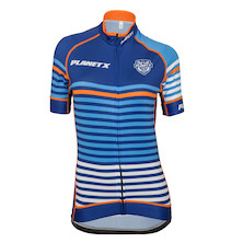 Planet X Midnight Stripe Women's Short Sleeve Jersey