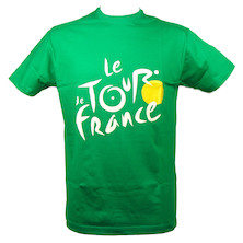 Tour De France TS Logo T Shirt