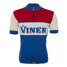 Viner Retro Short Sleeve Merino Jersey Made By Soigneur NZ