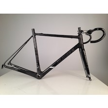 Planet X RT-90 Carbon Road Frameset / Large (56cm) / Black And Anthracite / Cosmetic Damage